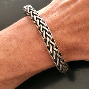 Other - Sterling Woven Bracelet